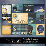 Wide Awake Journaling Cards Pack-$3.99 (Fayette Designs)