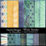 Wide Awake Basic Paper Pack-$3.99 (Fayette Designs)