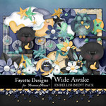 Wide Awake Embellishment Pack-$4.99 (Fayette Designs)