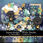 Wide Awake Combo Pack-$6.30 (Fayette Designs)