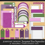 Jumpstart Your September Journal Pack-$2.80 (Jumpstart Designs)