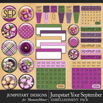 Jumpstart Your September Flair Pack-$2.80 (Jumpstart Designs)