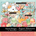 August Afternoon Embellishment Pack-$4.99 (Fayette Designs)