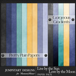 Live by the Sun Solid Gradiant Papers-$2.99 (Jumpstart Designs)