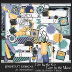 Live by the Sun Journal Bits Pack-$3.99 (Jumpstart Designs)