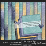 Live by the Sun Zodiac Paper Pack-$3.99 (Jumpstart Designs)