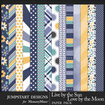 Live by the Sun Patterned Paper Pack-$3.99 (Jumpstart Designs)