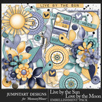 Live by the Sun Embellishment Pack-$3.99 (Jumpstart Designs)