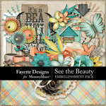 See the Beauty Embellishments-$4.99 (Fayette Designs)