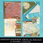 Off On An Adventure Stacked Paper Pack-$4.99 (Laura Burger)