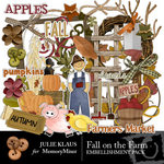 Fall on the Farm Embellishment Pack-$3.50 (Julie Klaus)