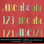 Off On An Adventure Alphabet Pack-$3.99 (Laura Burger)