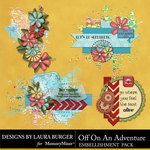 Off On An Adventure Clusters Pack-$3.49 (Laura Burger)