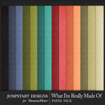 What I'm Really Made Of Solid Papers-$3.99 (Jumpstart Designs)