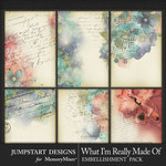 What I'm Really Made Of Art Cards Pack-$2.99 (Jumpstart Designs)