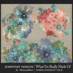 What I'm Really Made Of Art Accents Pack-$2.80 (Jumpstart Designs)