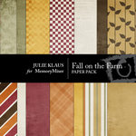 Fall on the Farm Paper Pack-$4.00 (Julie Klaus)