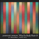 What I'm Really Made Of Ombre Papers-$2.80 (Jumpstart Designs)