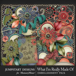 What I'm Really Made Of Tidbits Pack-$3.49 (Jumpstart Designs)