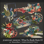 What I'm Really Made Of Cluster Pack-$3.99 (Jumpstart Designs)