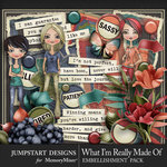 What I'm Really Made Of Add On Pack-$4.99 (Jumpstart Designs)