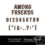 Among Friends Alphabet Pack-$1.00 (Paula Phillips)
