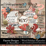 Weird Holidays Stupid Questions Mini Pack-$3.84 (Fayette Designs)
