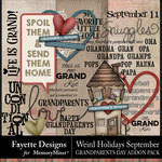 Weird Holidays Grandparents Day Pack-$3.49 (Fayette Designs)