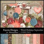 Weird Holidays Sept Combo Pack-$7.49 (Fayette Designs)