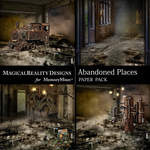 Abandoned Places Scenes Paper Pack-$2.80 (MagicalReality Designs)