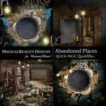 Abandoned Places QuickPages-$2.80 (MagicalReality Designs)