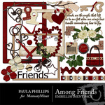 Among Friends Embellishment Pack-$3.50 (Paula Phillips)