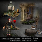 Abandoned Places Clusters Pack-$3.99 (MagicalReality Designs)
