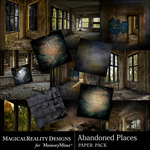 Abandoned Places Paper Pack-$3.49 (MagicalReality Designs)