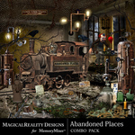Abandoned Places Combo Pack-$4.50 (MagicalReality Designs)