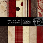 Among Friends Paper Pack-$4.00 (Paula Phillips)