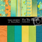 For the Halibut Paper Pack-$4.00 (Traci Murphy)