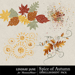 Spice of Autumn Scatterz Pack-$1.99 (Lindsay Jane)