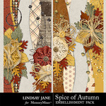 Spice of Autumn Borders Pack-$1.99 (Lindsay Jane)