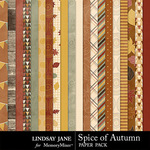 Spice of Autumn Paper Pack-$2.49 (Lindsay Jane)