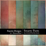 Smarty Pants Blended Paper Pack-$3.99 (Fayette Designs)