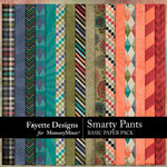 Smarty Pants Basic Paper Pack-$3.99 (Fayette Designs)