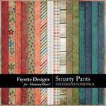 Smarty Pants Patterned Paper Pack-$3.49 (Fayette Designs)