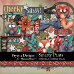 Smarty Pants Embellishment Pack-$4.99 (Fayette Designs)