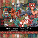 Smarty Pants Combo Pack-$6.29 (Fayette Designs)