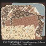 Sweet Cinnamon on the Breeze Torn Paper Pack-$2.99 (Jumpstart Designs)