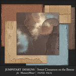 Sweet Cinnamon on the Breeze Cardboard Papers-$3.99 (Jumpstart Designs)