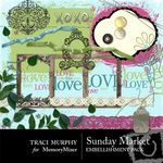 Sunday Market Embellishment Pack-$3.00 (Traci Murphy)