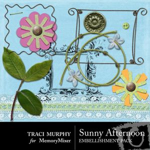 Tracimurphy sunnyafternoon embellishments medium