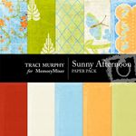 Sunny Afternoon Paper Pack-$3.49 (Traci Murphy)